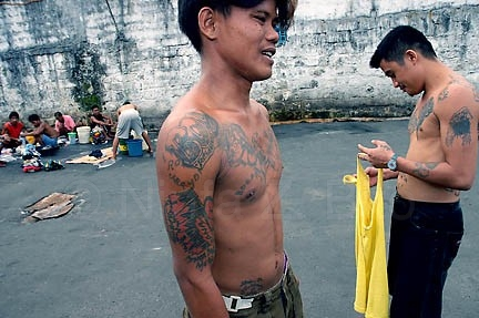 Shocking pictures inside world's most crowded prison where THIRTY convicts share each cell