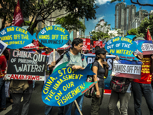 Independence Day protest against China presence.jpg
